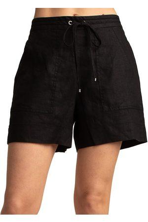 Trina Turk Women's Soothe Linen Shorts - - Size XL