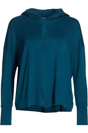 Majestic Women's Soft Touch Hoodie - Indigo - Size Large