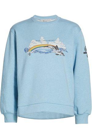 Stella McCartney Women's Rainbow Dolphin Sweatshirt - Washed - Size 4