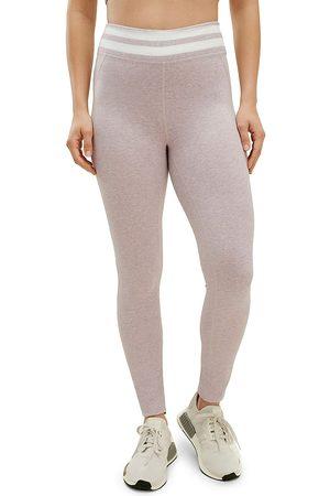 Splendid Women Leggings - Women's Shea Stripe Leggings - Rose - Size Large