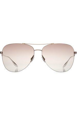Barton Perreira Women Aviators - Women's 62MM Aviator Sunglasses - Rose