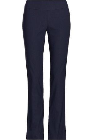 NIC+ZOE Women's Wonderstretch Woven Pants - Dark Indigo - Size 8