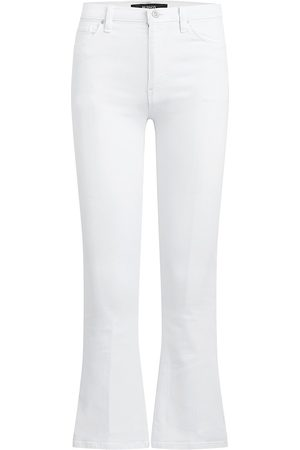 Hudson Women Bootcut - Women's Barbara High-Rise Cropped Bootcut Jeans - - Size 30