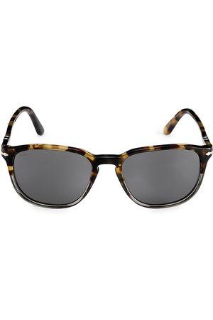 Persol Men's 52MM Square Sunglasses - Grey