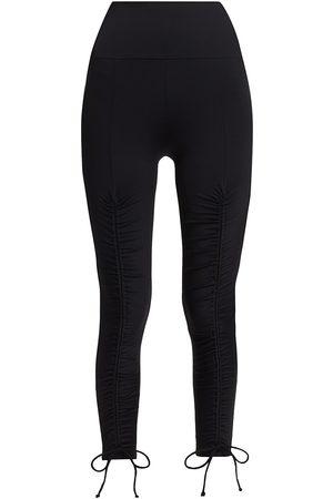 Port De Bras Women's Stelle Adjustable Ruched Leggings - - Size Small