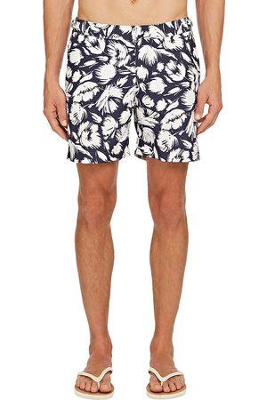 Orlebar Brown Men's Bulldog Botany Swim Trunks - Navy - Size 30