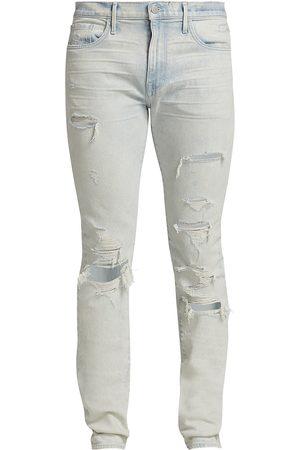 Joes Jeans Men's Asher Slim-Fit Trashed Jeans - Pale - Size 42