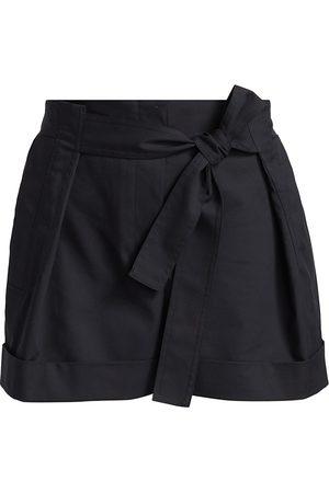 3.1 Phillip Lim Women Sports Shorts - Women's Tie-Waist Shorts - - Size 0