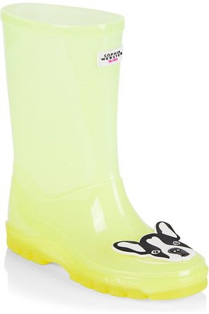 SOPHIA WEBSTER Girls Rain Boots - Little Girl's & Girl's Rio Welly Rain Boots - - Size 11 (Child)