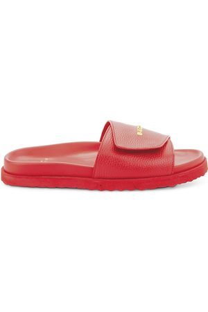 BUSCEMI Men Sandals - Men's Alyx Leather Slides - - Size 10 Sandals