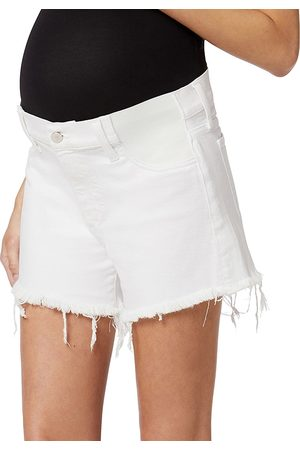 Joes Jeans Women's The Ozzie Frayed Maternity Shorts - - Size 29