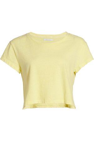 JOHN ELLIOTT Women Sports T-shirts - Women's Jersey Cropped T-Shirt - - Size XS