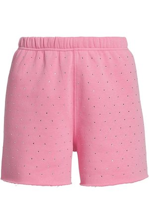 Generation Love Women's Aria Crystal Shorts - Bubblegum - Size XS