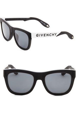 Givenchy Men's 50MM Metallic Round Sunglasses