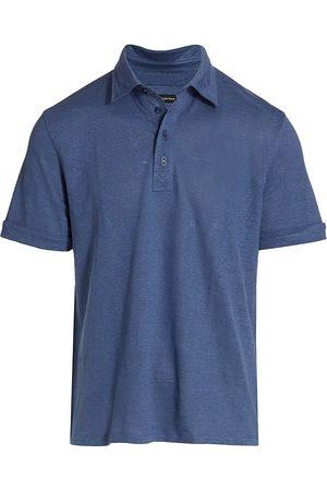 Ermenegildo Zegna Men's Pure Linen Polo - - Size 46