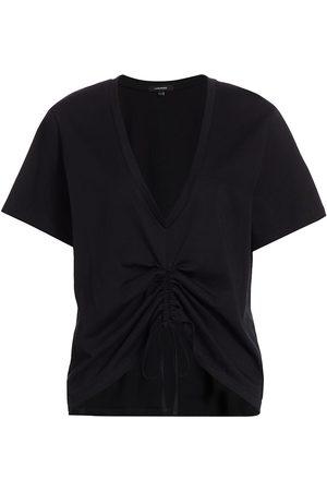 LaMarque Women's Enya Ruched T-Shirt - - Size Large