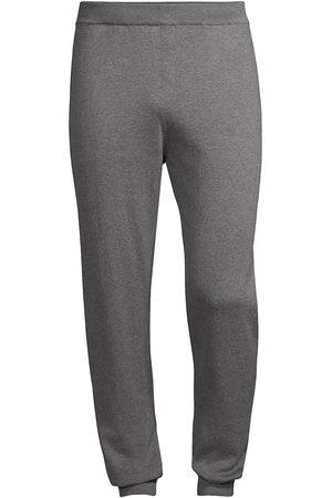 corneliani Men's Cashmere-Cotton Joggers - Charcoal - Size 44