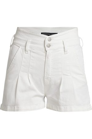 VERONICA BEARD Women's Jaylen Notch Detail Shorts - - Size 4