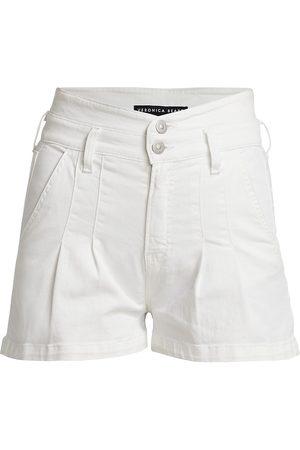 VERONICA BEARD Women's Jaylen Notch Detail Shorts - - Size 4