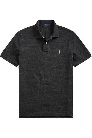 Polo Ralph Lauren Men Polo Shirts - Men's Cotton Polo - Marl - Size Medium