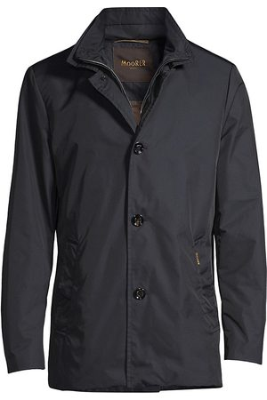 MOORER Men Coats - Men's Lightweight Car Coat - - Size 44