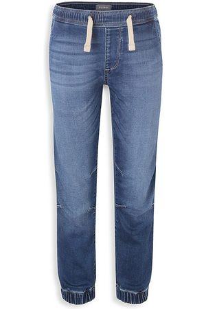 DL1961 Boys Sweatpants - DL1961 Premium Denim Little Boy's and Boy's Jackson Denim Joggers - Aqua - Size 3