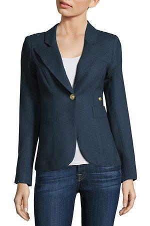 SMYTHE Women's Duchess Wool Blazer - - Size 2