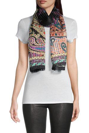 Etro Women's Delhy Paisley Silk Scarf - Multi