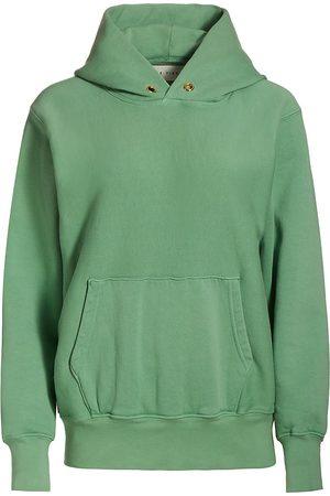 Les Tien Women's Fleece Hoodie - Pistacchio - Size XL