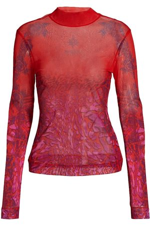 Givenchy Women's Second Skin Long Sleeve Top - Size Large