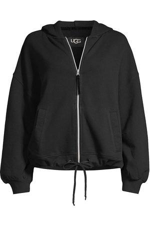 UGG Women Hoodies - Women's Abbi Puff-Sleeve Zip Hoodie - - Size Small
