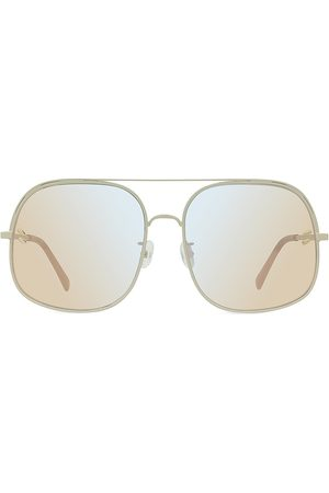 Stella McCartney Women Aviators - Women's 60MM Square Aviator Sunglasses - Grey