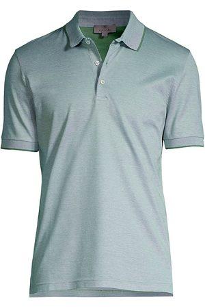 CANALI Women Polo Shirts - Women's Plain Polo - Seafoam - Size 38