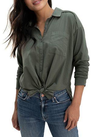 Splendid Women's Paige Button-Up Shirt - Soft Vob - Size XS