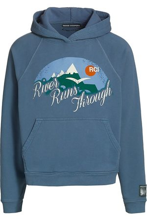Reese Cooper Men's River Runs Through Graphic Hoodie - - Size XS