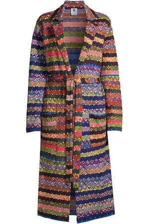 M Missoni Women's Multi-Patch Duster Jacket - Size 4