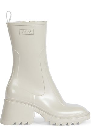 Chloé Women's Betty PVC Rain Boots - - Size 11
