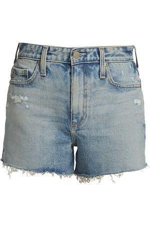 AG Jeans Women Shorts - Women's Alexxis Distressed Denim Shorts - - Size 32