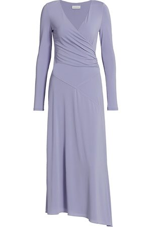Halston Heritage Women's Lyla Wrap Dress - Lavender - Size 16