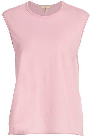 RAG&BONE Women Sports T-shirts - Women's The Gaia Muscle Tank - Ultra - Size Large