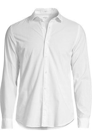 HARTFORD Men's Sammy Slim-Fit Voile Shirt - - Size Small