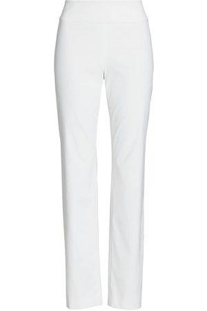 NIC+ZOE, Petites Women's Wonderstretch Pants - Paper - Size 16