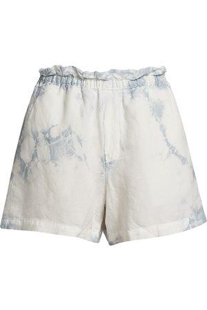 NSF Women Sports Shorts - Women's Joey Elastic Waist Shorts - Bright Paris Wash - Size XS