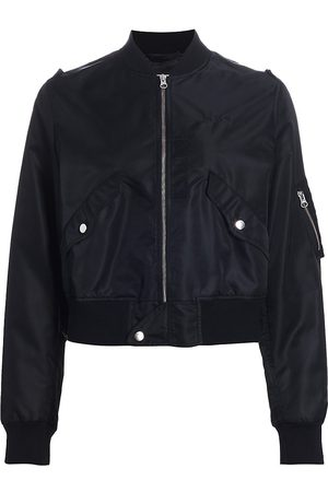 MM6 MAISON MARGIELA Women Bomber Jackets - Women's Zip Bomber Jacket - - Size 6