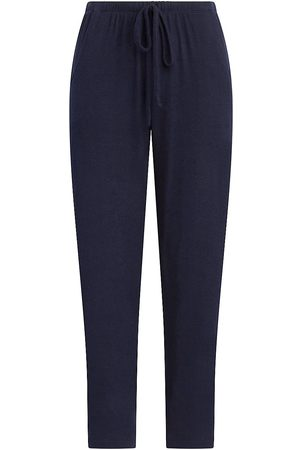 Leset Women Pants - Women's Lori Drawstring Pants - Navy - Size Large