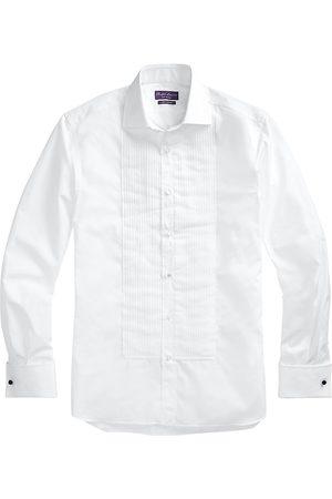 Ralph Lauren Men Shirts - Men's Aston Poplin Tuxedo Shirt - - Size 16