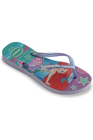 Havaianas Sandals - Kid's Slim Princess Thong Sandals - Quiet Lilac - Size 10 (Toddler)