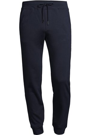 ISAIA Women's Silk-Blend Track Pants - Dark - Size Small