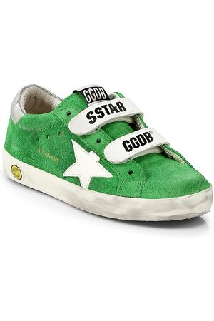 Golden Goose School Shoes - Little Kid's and Kid's Old School Suede Sneakers - Bright - Size 9 (Toddler)