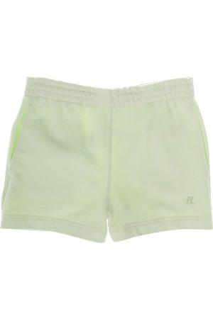 Helmut Lang Women Sports Shorts - Women's High-Rise Sweat Shorts - Electric - Size Large